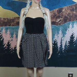 Xhilaration strapless short pocket dress